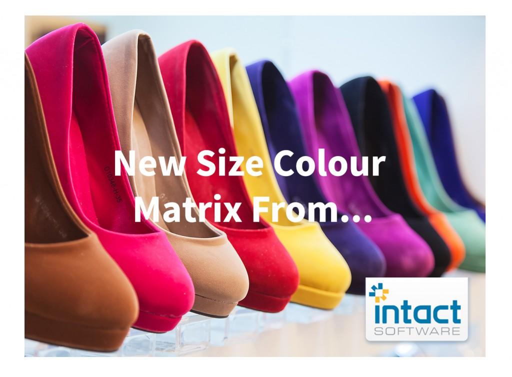 Size and colour stock matrix