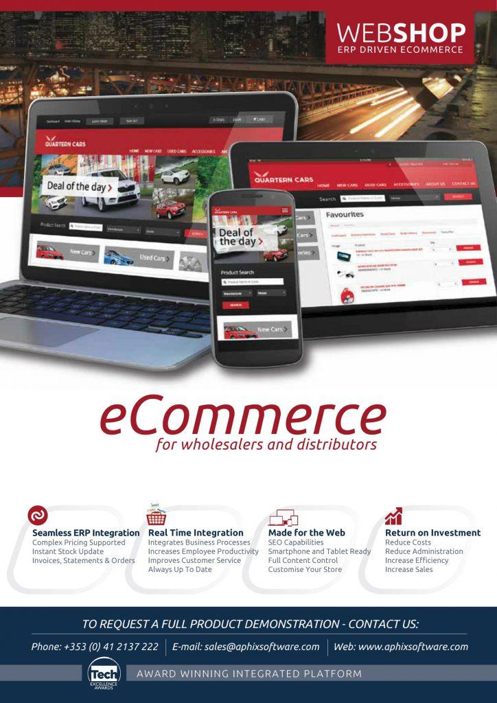 E-commerce WebShop Intact software