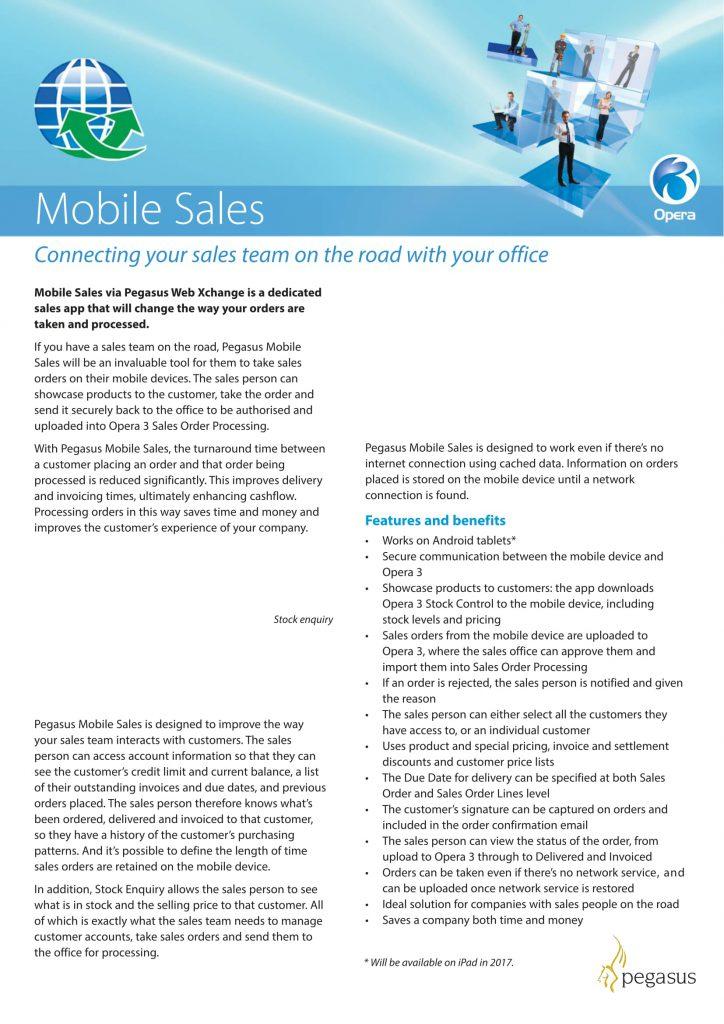 Pegasus Mobile Sales