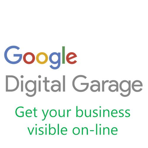 Google, digital garage, get visible on-line