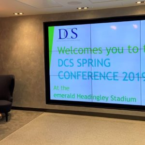 DCS Spring Conference 2019, emerald Headingley Stadium