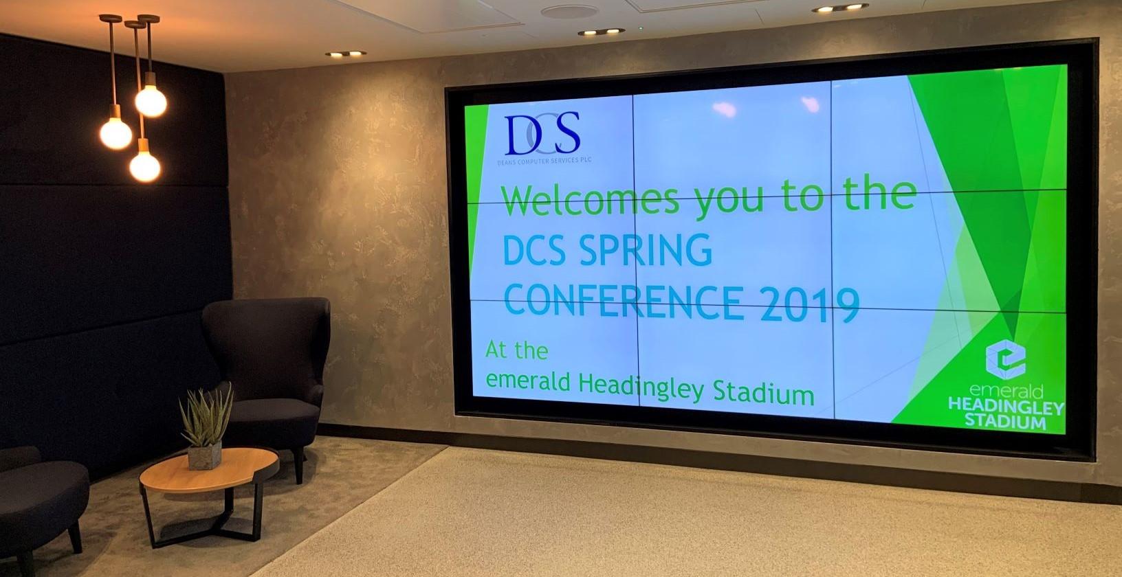 DCS Spring Conference 2019, emerald Headingley Stadium