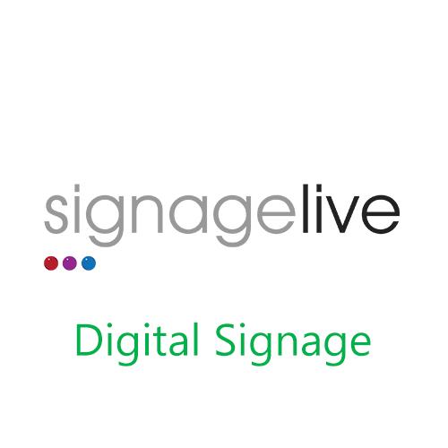 Digital Signage, signage live