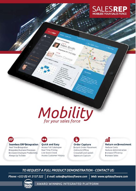 Aphix mobile sales software