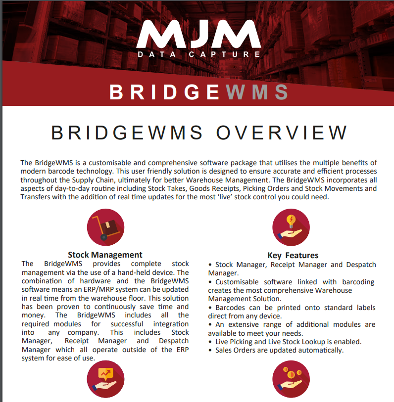 MJM Warehouse management