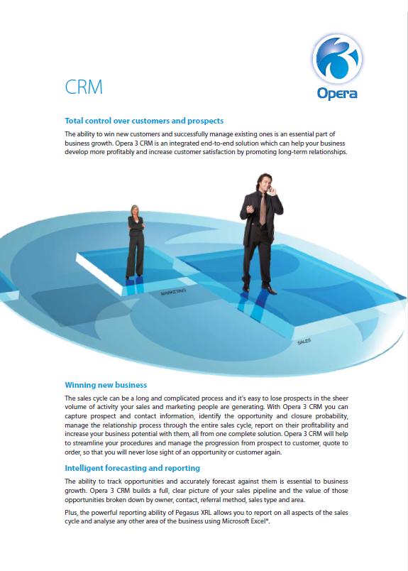 Opera 3 CRM